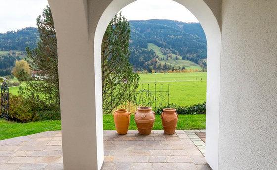 Eingang Gartenappartement