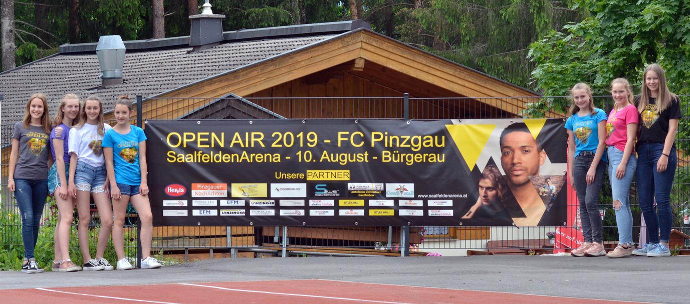Spendenshirt HIB -FC Pinzgau OpenAir 2019