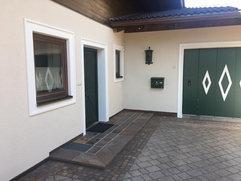 Eingang Haus Appartement