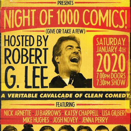 The Upper Room: Night of 1,000 Comics Concert Recap Blog