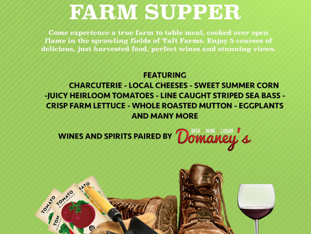 Summer Farm Supper
