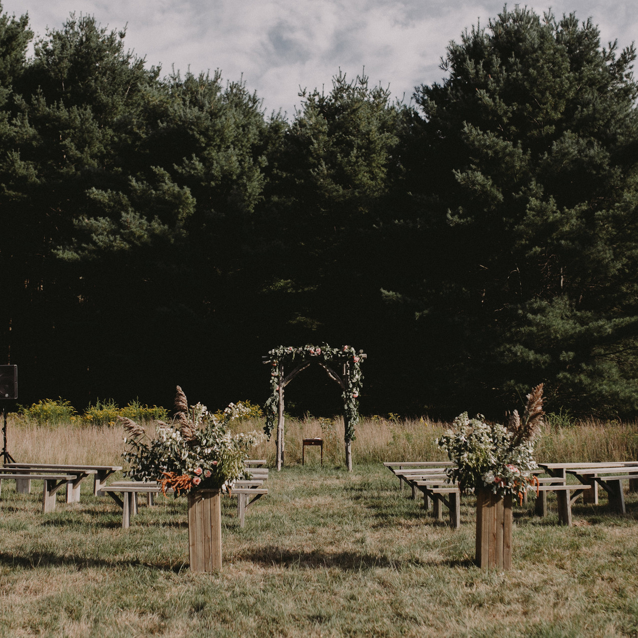 Wedding catering in new england