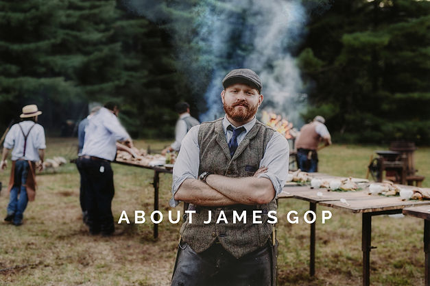 Chef James Gop Heirloom Fire