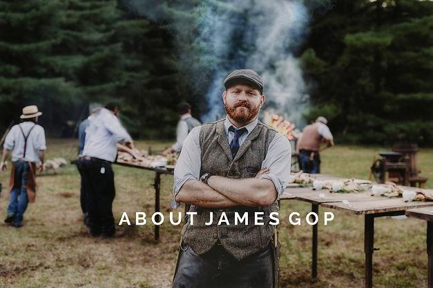Chef James Gop Heirloom Fire