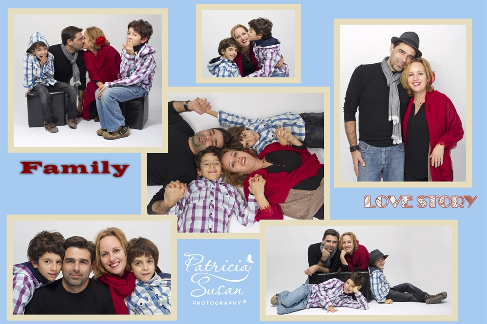 Sessão fotográfica Família