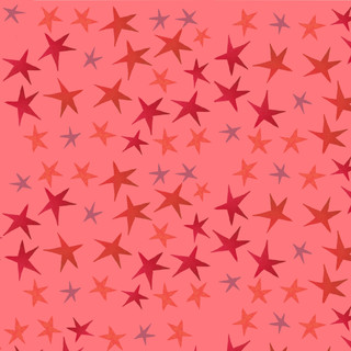 pink and red star pattern