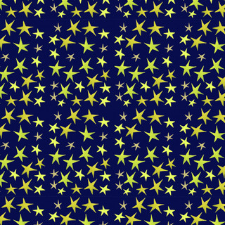 blue and gold stars