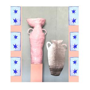 Pinnk Pot and Tinn Pot