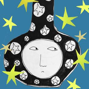 star face pot