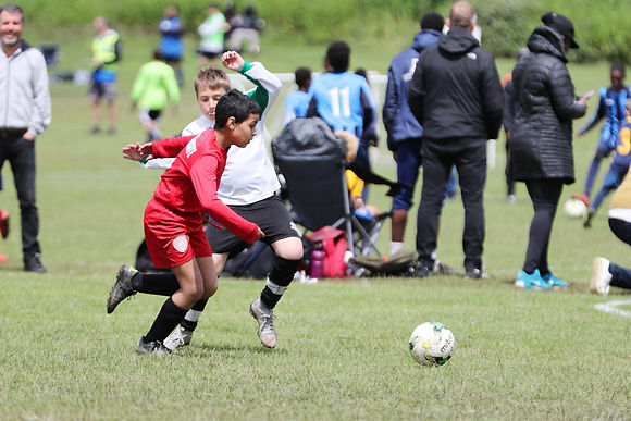 kids football training