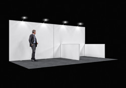 Stand modulaire 1 mur