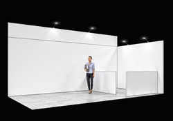 Stand modulaire 2 murs