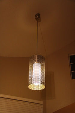 Stainless Steel Perferated Light