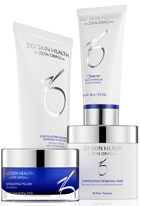 ZO acne skin care program