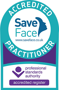 Save Face Accredited Practitioner Logo P