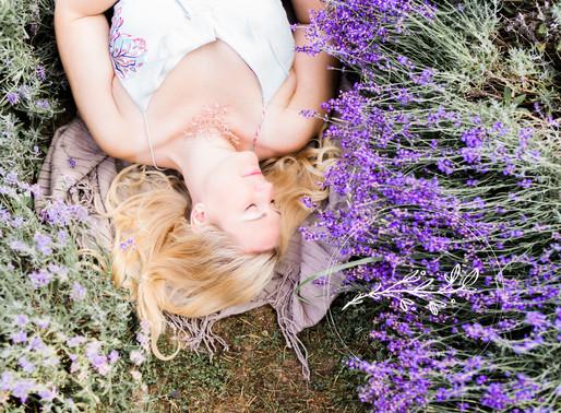 Amanda in the Lavender