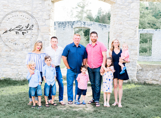 Rockwood Ruins Family Session