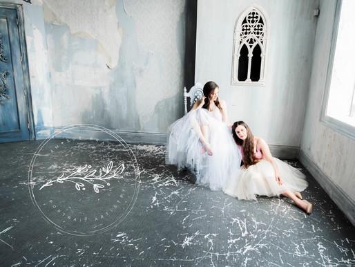 Sisters in Tulle @ Mint Room Studios