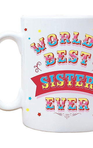 World's Best Sister Ever Mug