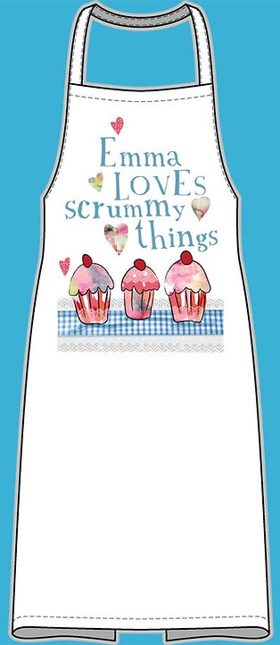 Loves Scrummy Things Apron