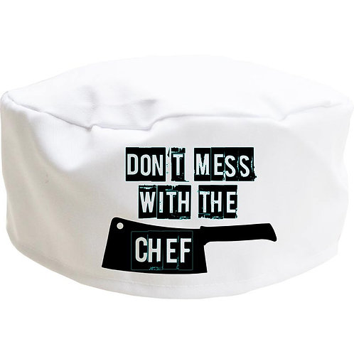 Don't Mess With The Chef Skull Cap