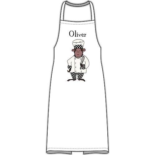 Personalised Chef Monkey Apron
