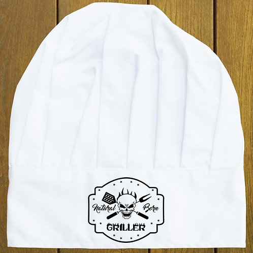 Natural Born Griller Chef Hat