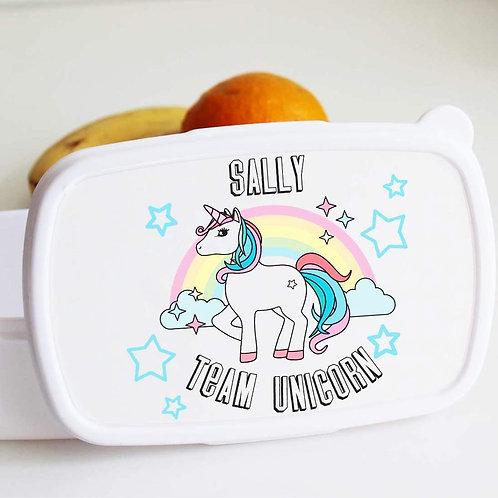 Team Unicorn Lunch Box