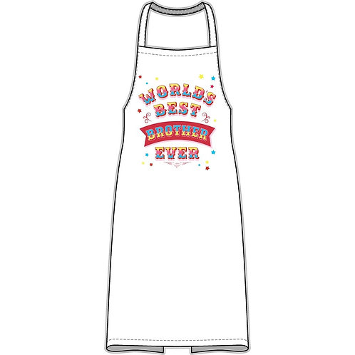 World's Best Brother Ever Apron