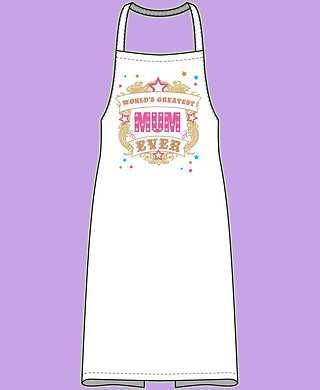 World's Greatest Mum Ever Apron