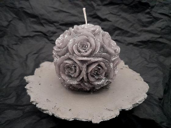 Rosace avecsupport en ciment