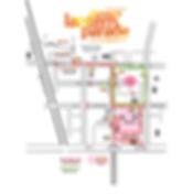 lismore lantern parade route map.png