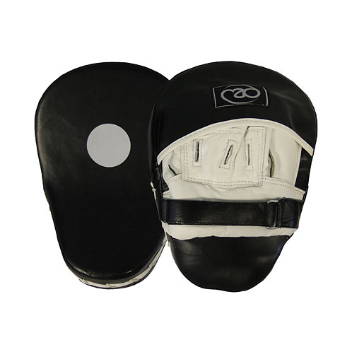 Fitness Mad Leather Pro Curved Hook and Jab Pads