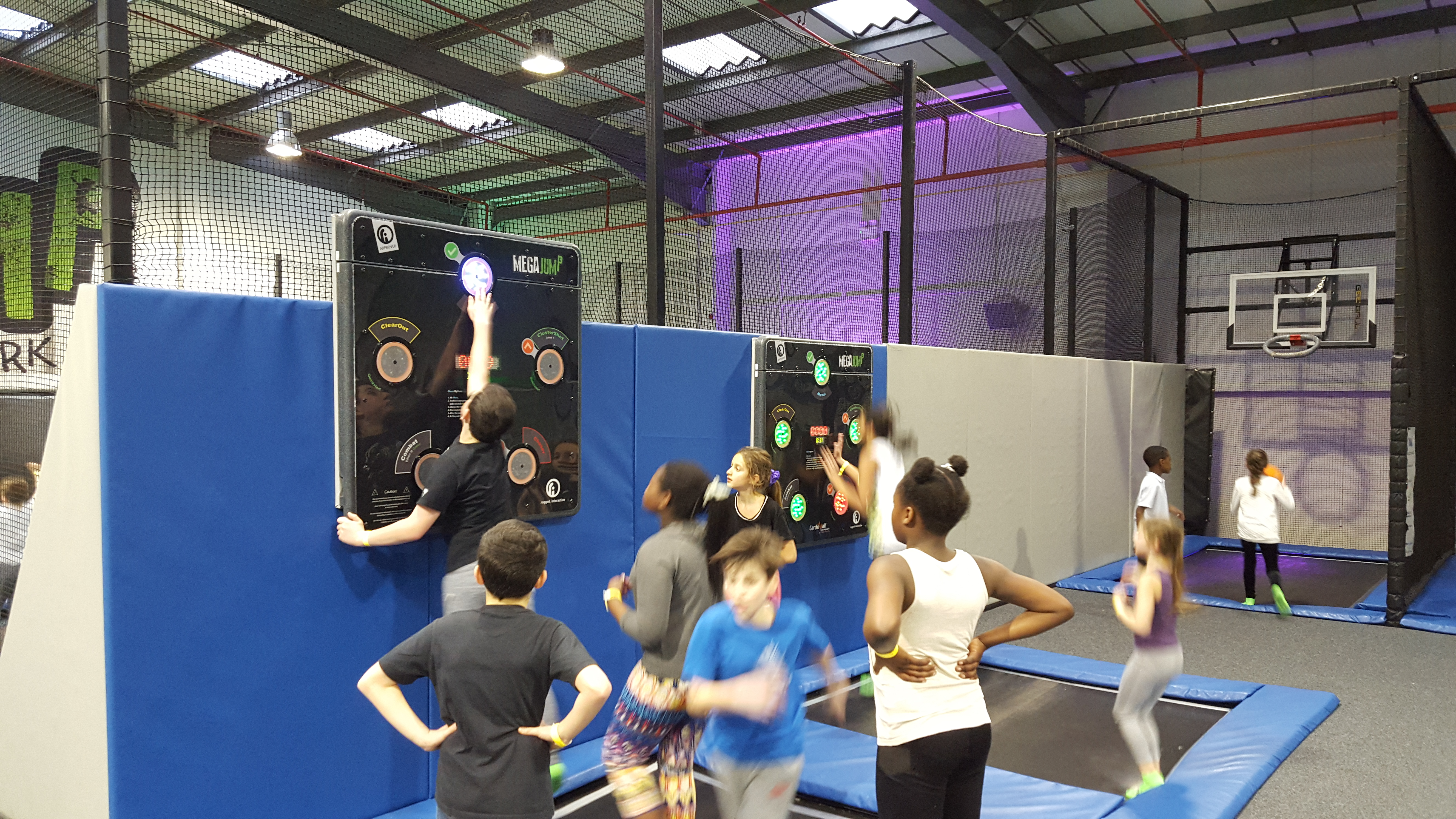 CardioWall FreeStyle at Mega Jump