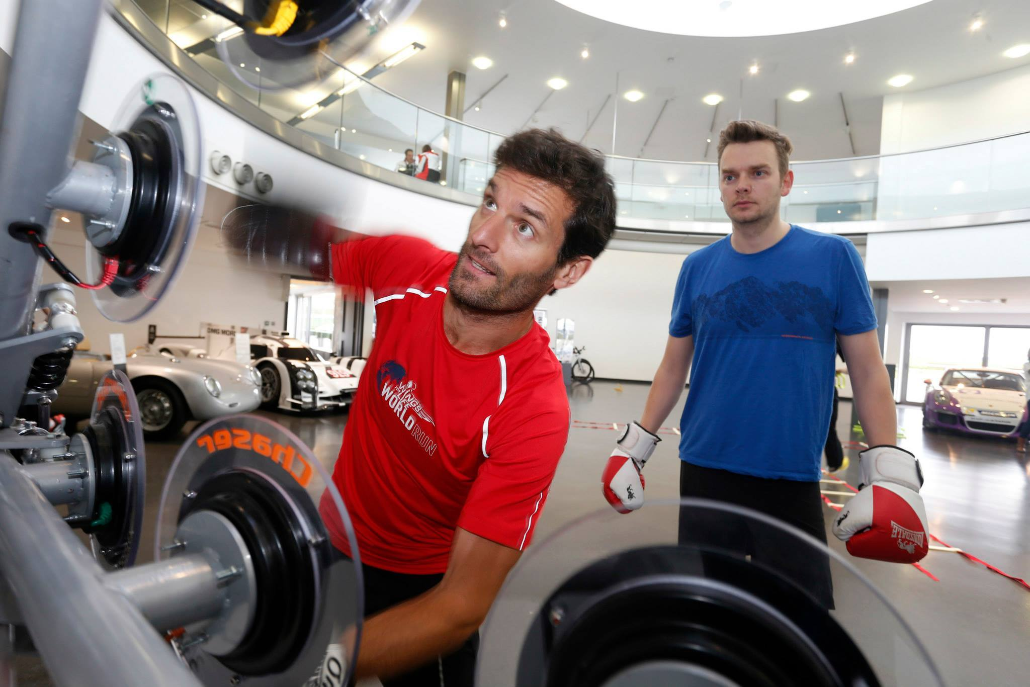 Mark Webber on Pro-X at Get Race Fit