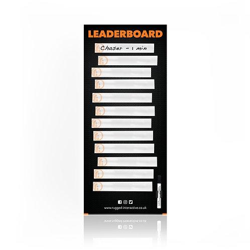 'Top Gear' Style Magnetic Leaderboard