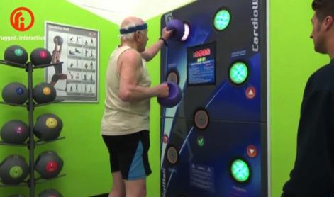 CardioWall at Plymouth YMCA
