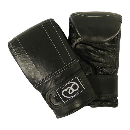 Fitness Mad Leather Pro Punch Bag Mitts