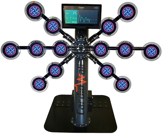 Rugged Interactive CardioWall Pro-X Elite reaction trainer machine for gyms, sports teams, performance training and health clubs as seen on Dragons Den