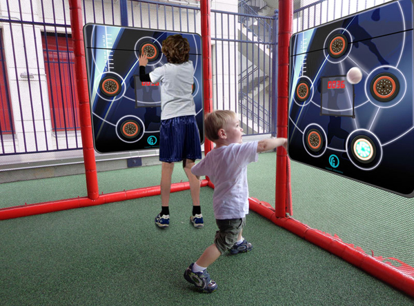 CardioWall Compact Duo at PlaySpace