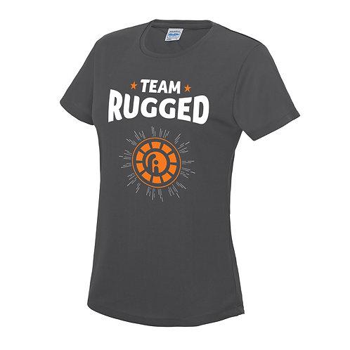 """Women's """"Team Rugged"""" Technical T-Shirt"""