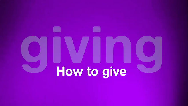 4 Easy Ways to Give
