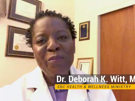 Important Message from Dr. Deborah K. Witt, MD.