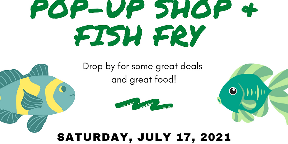 Masjidullah's Pop-Up Shop & Fish Fry
