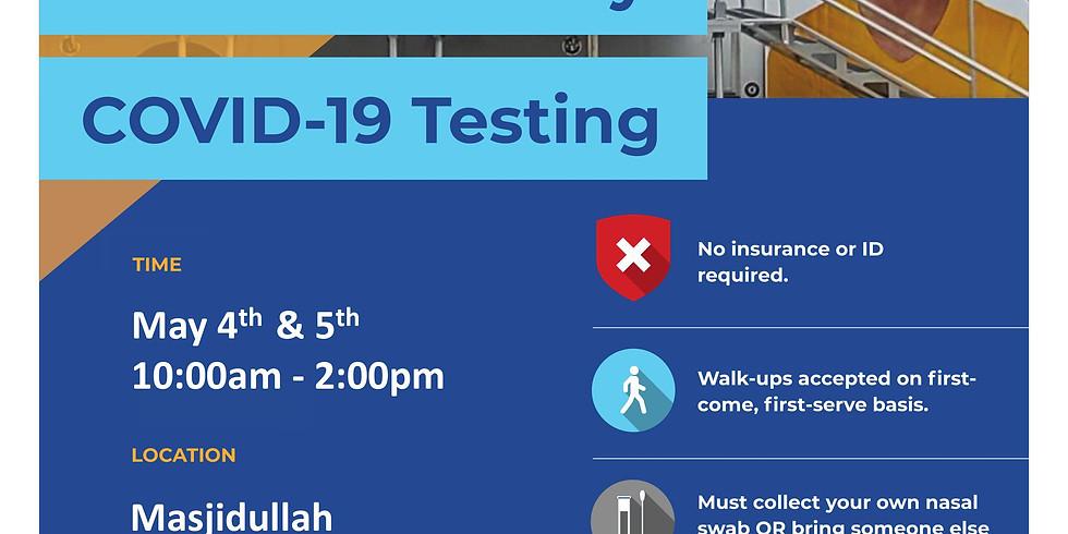 Free Community COVID-19 Testing