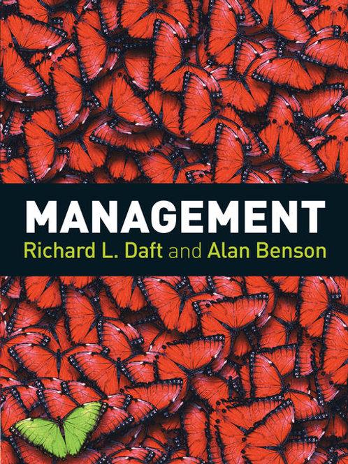 Management   Daft and Benson