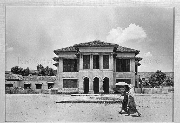 The old Istana Kampong Glam, also known as Sultan's Palace