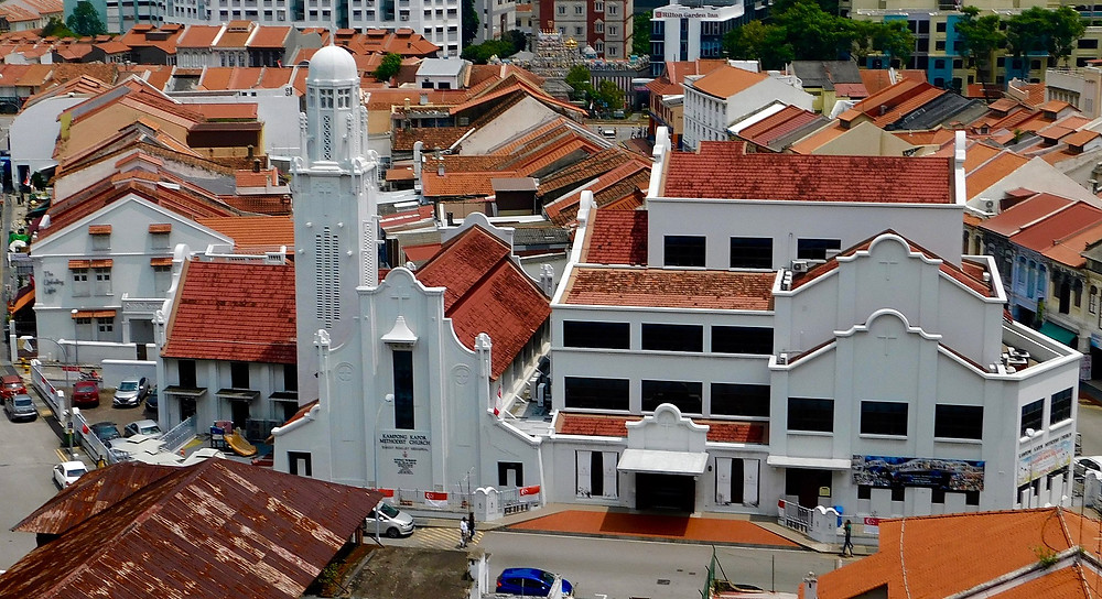 Kampong Kapor Methodist Church in Little India