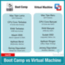 IG Post - Tips Tricks - Boot Camp vs Vir