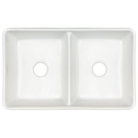 Fireclay / Double Bowl / Farmhouse / 50x50 / 32x20
